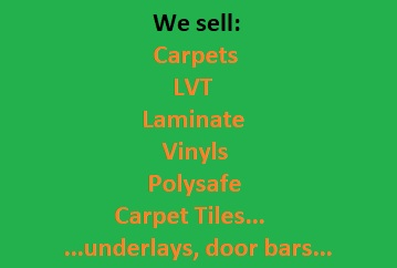 We do sell all types of flooring